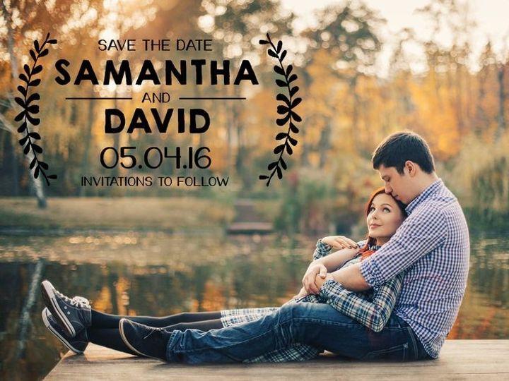 Tmx 1435330261920 291 Rochester, NY wedding invitation