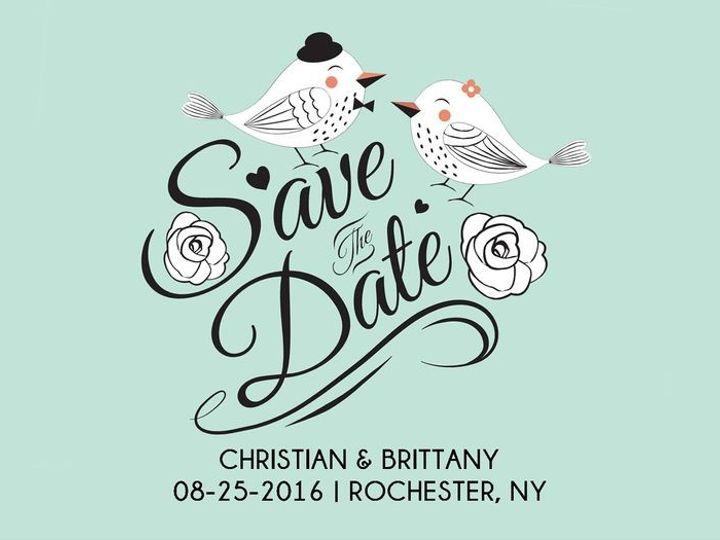 Tmx 1435330282843 387 Rochester, NY wedding invitation