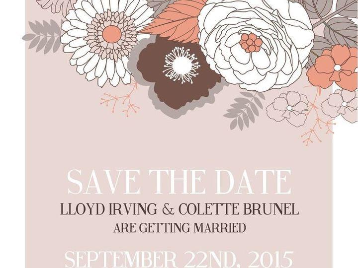 Tmx 1435330298922 393 Rochester, NY wedding invitation