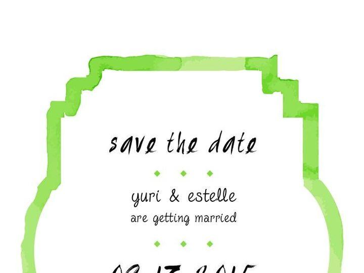 Tmx 1435330335855 416 Rochester, NY wedding invitation