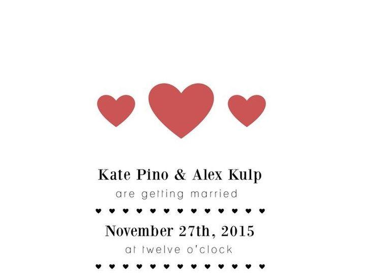 Tmx 1435330351854 426 Rochester, NY wedding invitation