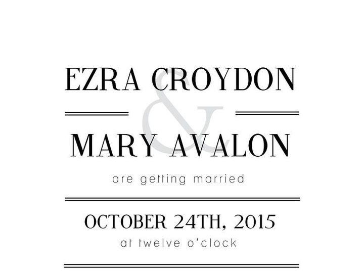 Tmx 1435330355920 427 Fairport, NY wedding invitation