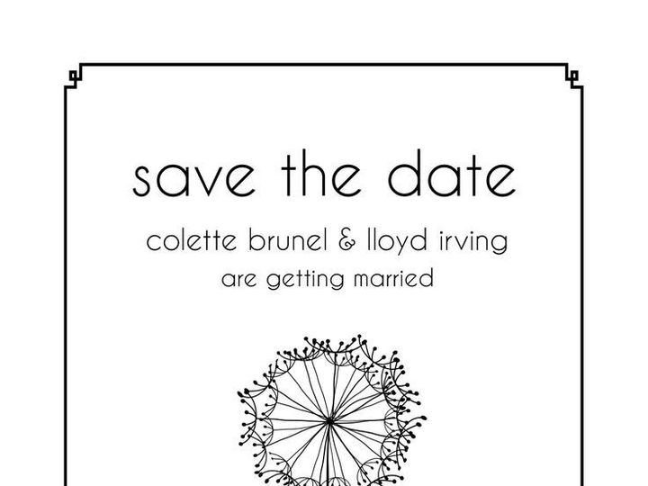 Tmx 1435330371901 435 Rochester, NY wedding invitation