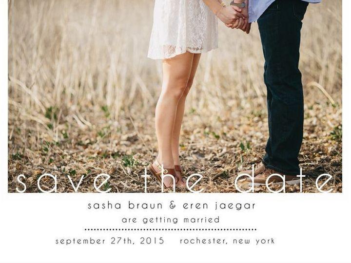 Tmx 1435330375897 437 Rochester, NY wedding invitation