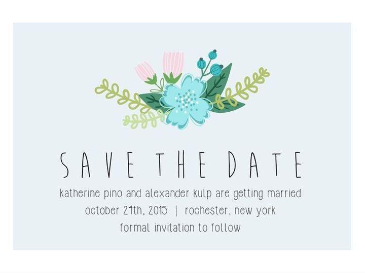 Tmx 1435330419844 490 Rochester, NY wedding invitation