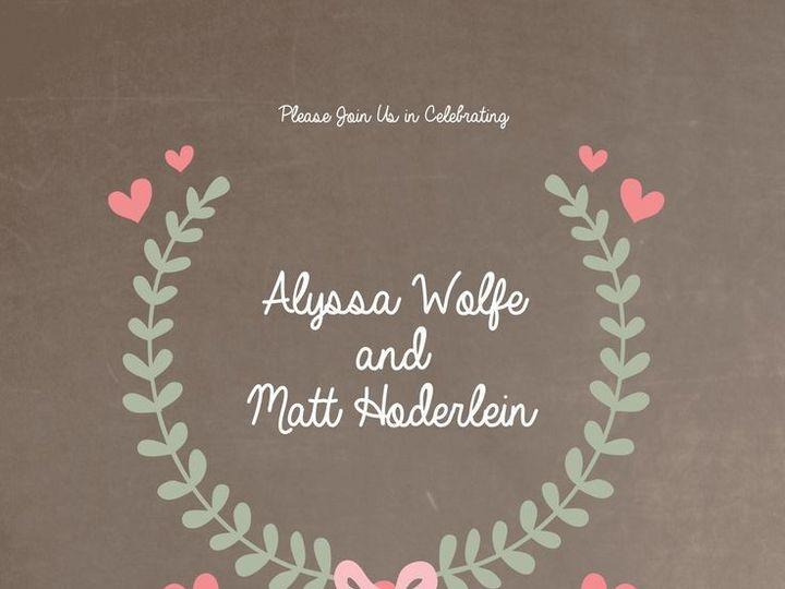 Tmx 1435330885588 311 Rochester, NY wedding invitation
