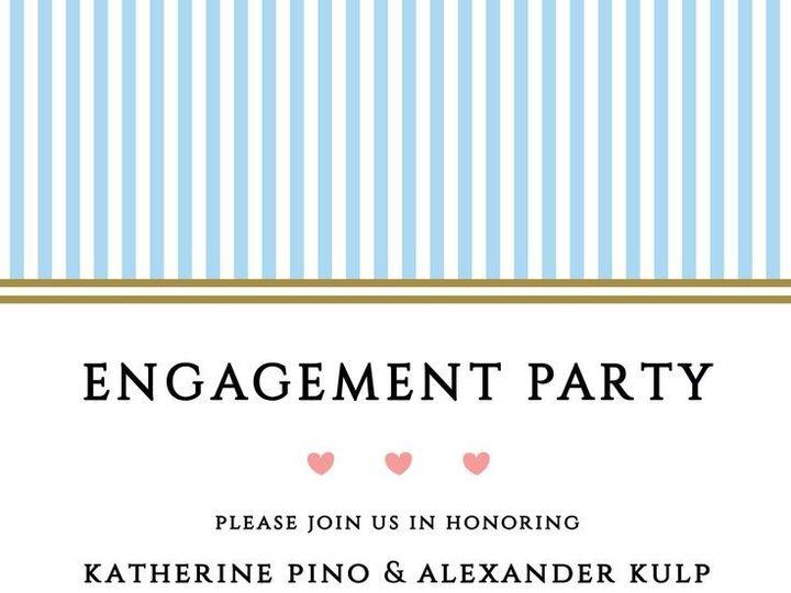 Tmx 1435330889553 351 Rochester, NY wedding invitation