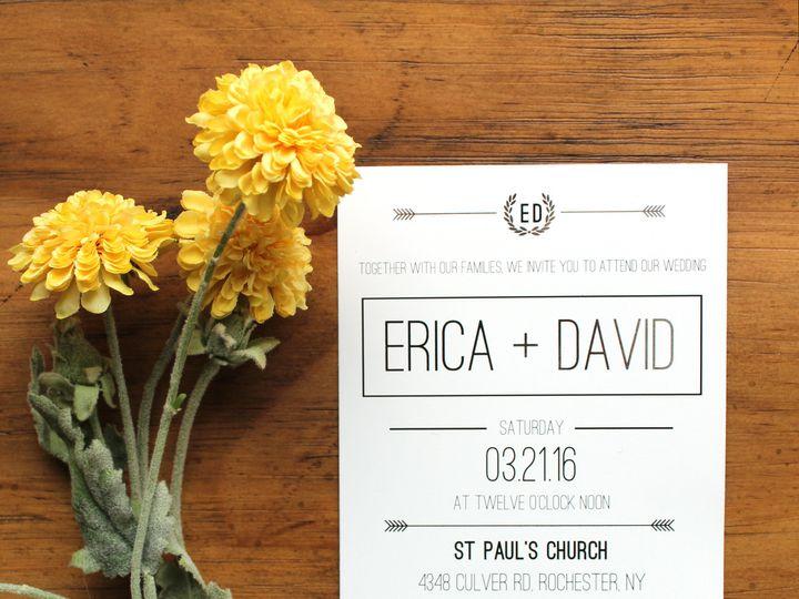 Tmx 1504031972784 Weddinginvite Fairport, NY wedding invitation
