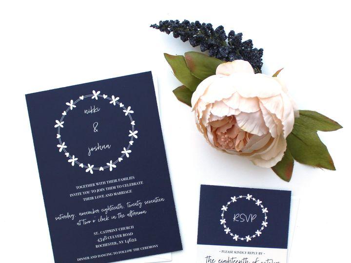 Tmx 1504032025173 Weddinginvite2 Fairport, NY wedding invitation