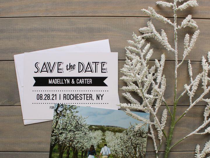 Tmx 1504032098652 Stdsimplephoto Rochester, NY wedding invitation
