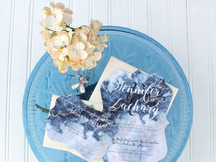 Tmx 1504032542066 Diecutclassic Fairport, NY wedding invitation