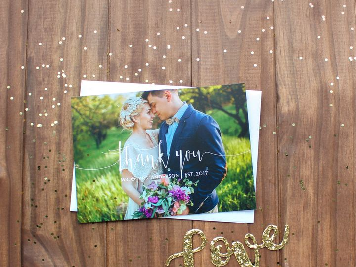 Tmx 1504033552234 Weddingthankyou Rochester, NY wedding invitation