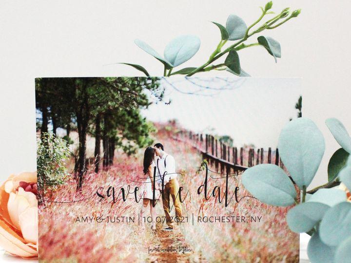 Tmx 1504033605155 Stdphoto Fairport, NY wedding invitation