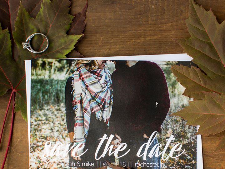 Tmx 1504033626386 Stdfallleaves Fairport, NY wedding invitation