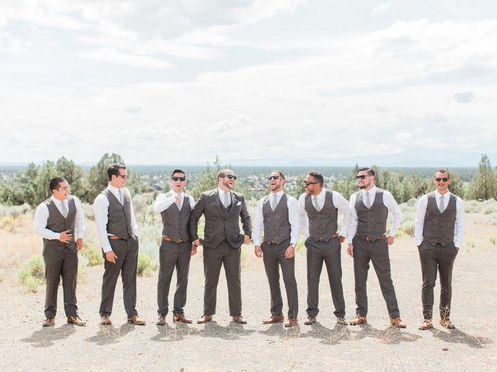 Groom with the groomsmen