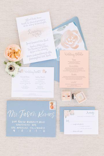 Brilliant Wedding Co. - Invite