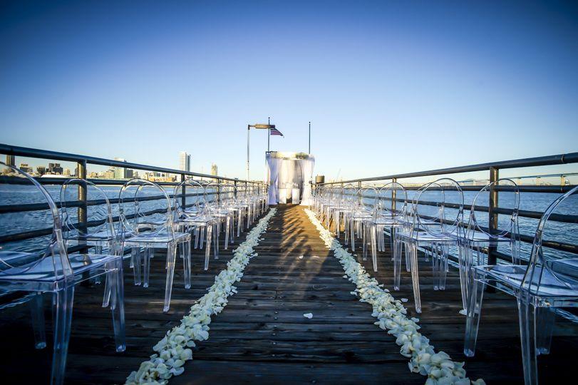 Long wedding isle