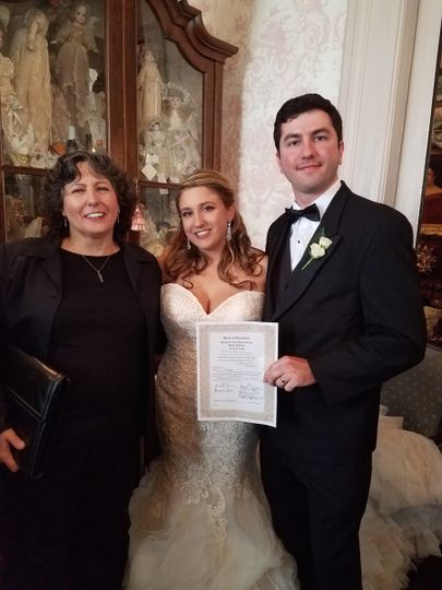 Katie & David had a beautiful wedding in a Victorian Mansion, uptown New Orleans.