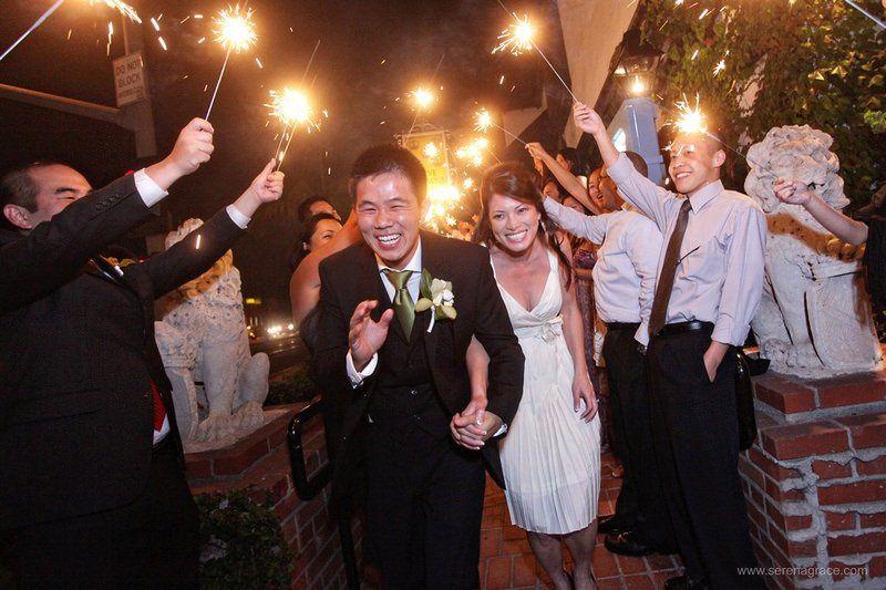 BrideGroomExitSerenaGracePhoto