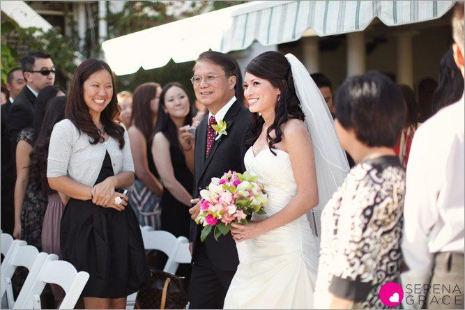 Tmx 1348602413286 BlogPhotoBrideandFatheroftheBridewalkingdowntheaisleonlawn Corona Del Mar, CA wedding venue