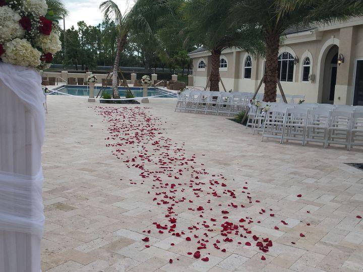 Tmx 1522430468 15782d7a1bd734df 1522430466 Bf138a3a65f9647a 1522430460492 3 Courtyard Ceremony West Palm Beach, FL wedding venue
