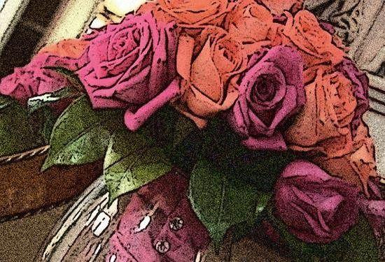 """flowers"" illustrated photo"