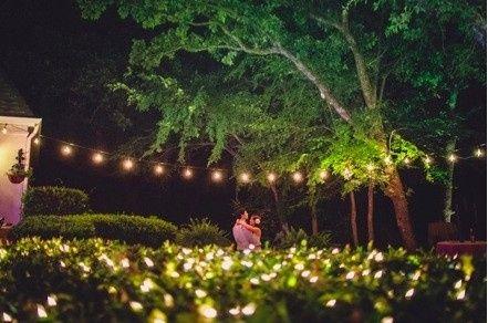 Evening romantic dance