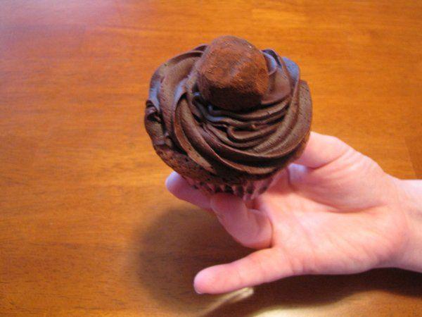 Our Chocolate Truffle Cupcake