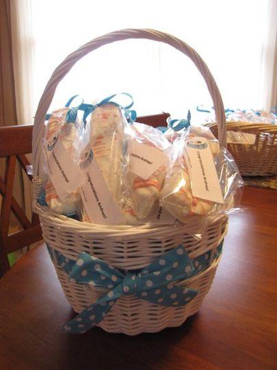 Beautiful basket of Favors