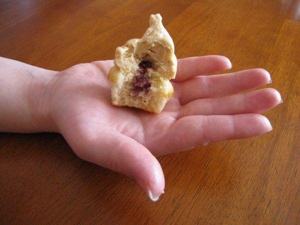 PB&J Miniature Cupcake