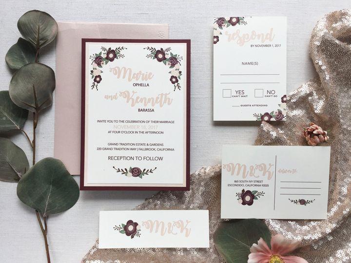 Tmx Img 2976 51 65836 V1 San Diego, CA wedding invitation
