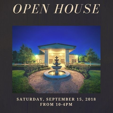 Come join us for our Grand Opening. Tour and visit with our prefered vendors. RSVP and get entered...
