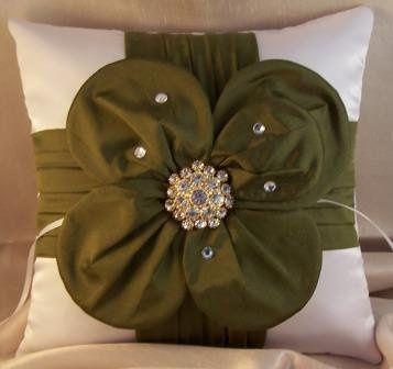 Tmx 1285072406235 Satinflowerbroochpillow Salem wedding favor