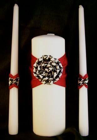 Tmx 1312311897048 Houndstoothunitycandle Salem wedding favor