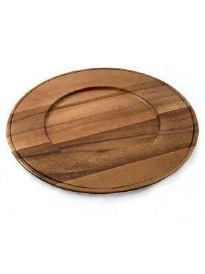 wood acacia charger 300
