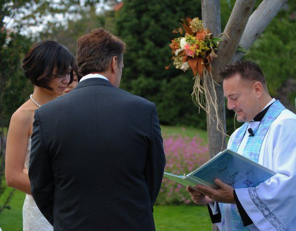 Officiant of the wedding