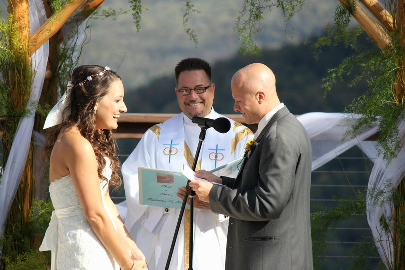 Vows of the groom