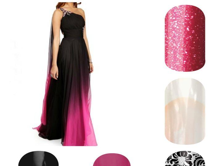 Tmx 1396302077776 Pinkblackpro Indianapolis wedding beauty