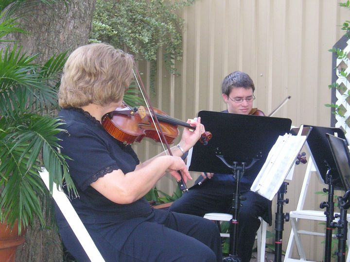 Duo Rehearsing