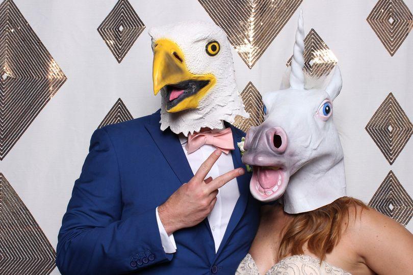 Chicken and unicorn