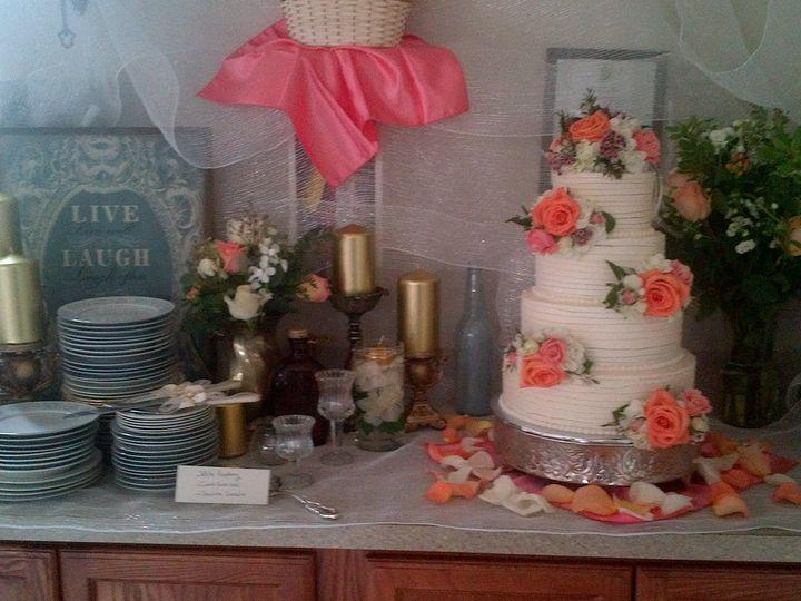 Tmx 1424919138362 Img00001444 Davenport wedding cake