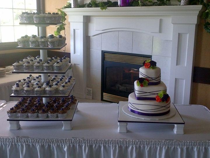 Tmx 1424920031538 Img00001498 Davenport wedding cake