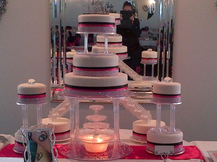 Tmx 1424920483661 Img00001040 Davenport wedding cake