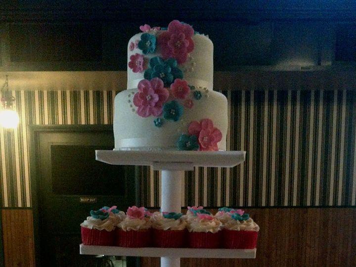 Tmx 1424927491290 Img00000602 Davenport wedding cake