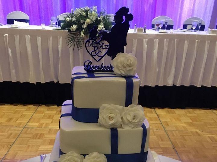 Tmx 1489362388562 Img9559121 Davenport wedding cake