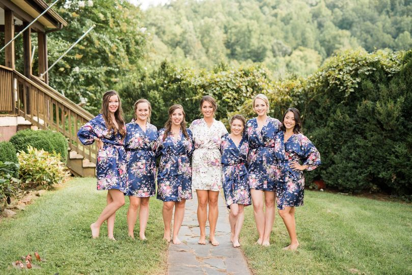 Bridesmaids At Farm House