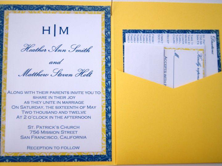 Tmx 1383003739701 Dsc0623 Roseville, CA wedding invitation