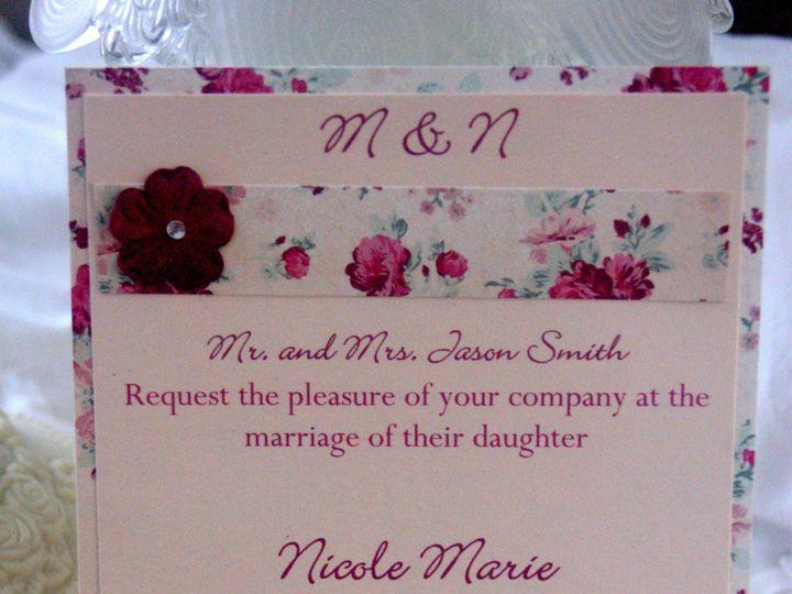 Tmx 1383004053449 Dsc0654 Roseville, CA wedding invitation