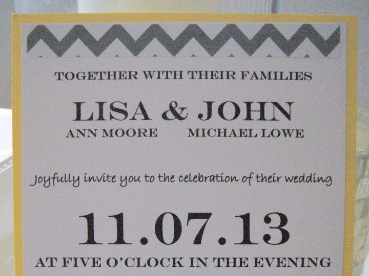 Tmx 1383767516539 Dsc0709 Roseville, CA wedding invitation