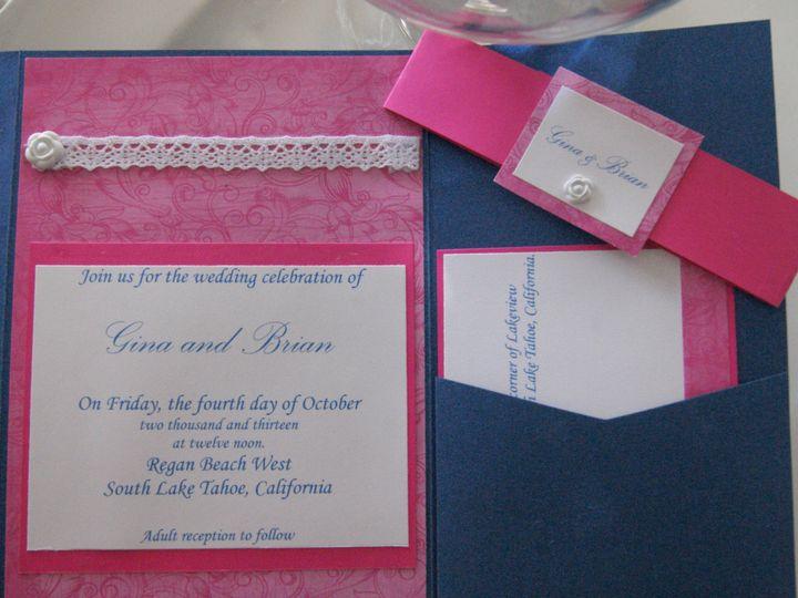 Tmx 1383768238771 Dsc0709 Roseville, CA wedding invitation